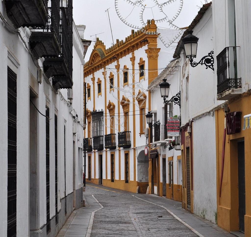 Au hasard des rues, Zafra, province de Badajoz, Estrémadure, Espagne.
