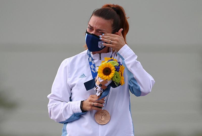 聖馬利諾射擊選手Alessandra Perilli【AFP授權】
