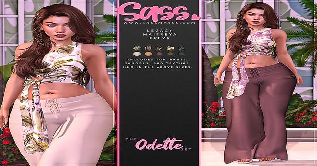 New Odette Set A Sass!