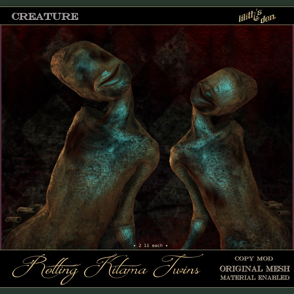 Lilith's Den – Rotting Kitama Twins