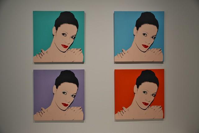 Karen Kain 1980, Andy Warhol Exhibits, Art Gallery of Ontario, AGO, 317 Dundas Street West, Toronto, ON