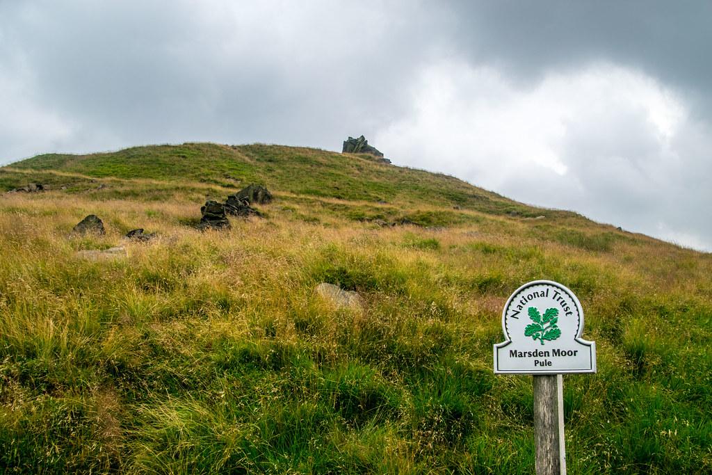 Pule Hill Marsden Moor