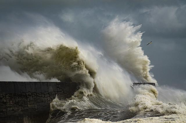 Diabolical - Storm Evert Newhaven Harbour Breaker