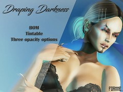 FORMME. Draping Darkness
