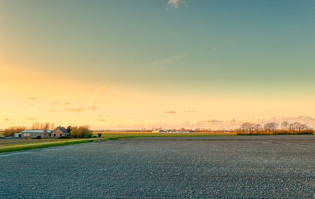 Grebpolder, Holland.