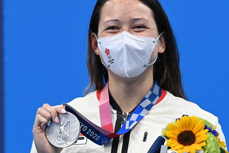 香港游泳女將何詩蓓。【AFP授權】