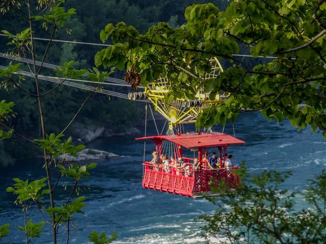 The Whirlpool Aero car in Niagara Gorge.