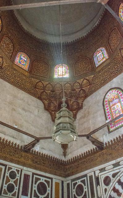 Cairo Complex of Sultan Barquq 1384-86 Mamluk Mausoleum Dome Pendentive (1)