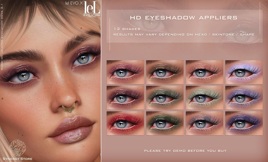 Synergy - Lelutka HD Eyeshadow Applier for EVO/EVO X heads - Milan (Soft)♥