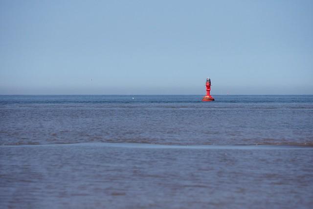 Minimalistische Nordsee