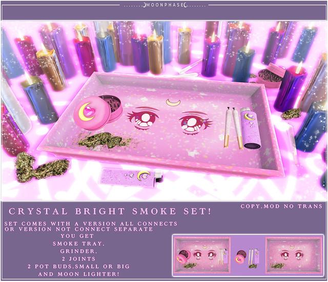 Crystal Bright Smoke Set @Crystal Heart!