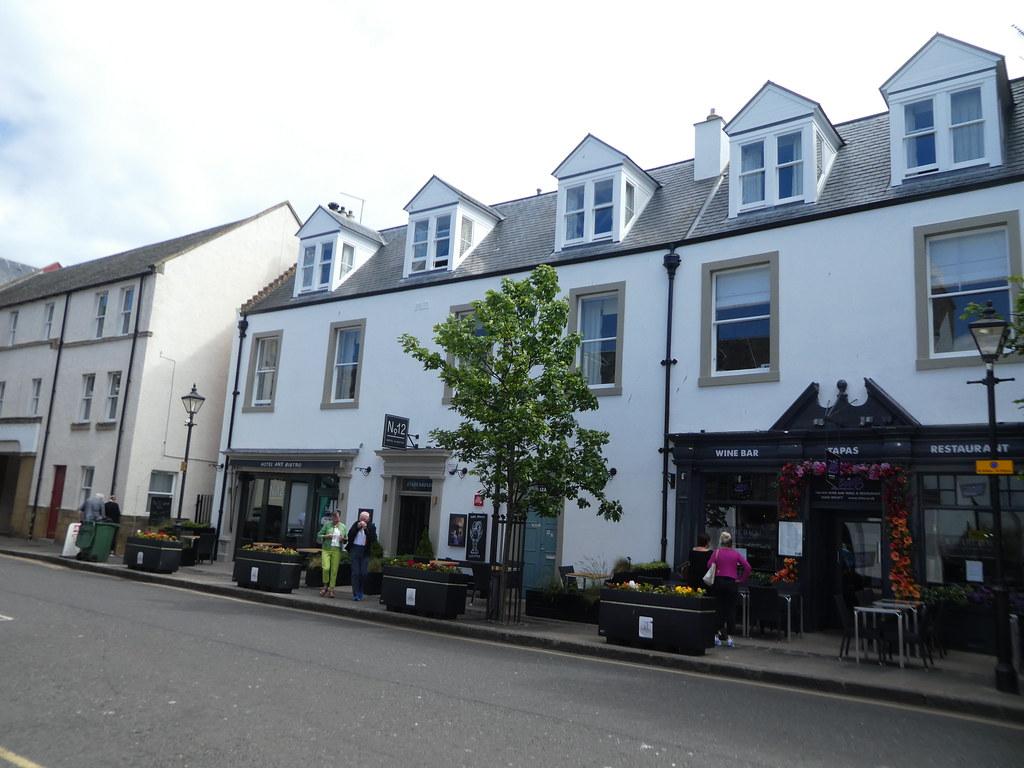 North Berwick's main street