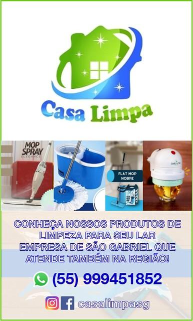 Casa Limpa SG - Tudo para a sua casa ficar bem limpa em São Gabriel