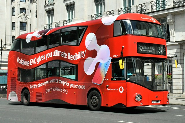 LT 967 (LTZ 2167) Arriva London