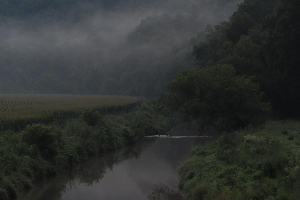 Mist over the Platte River