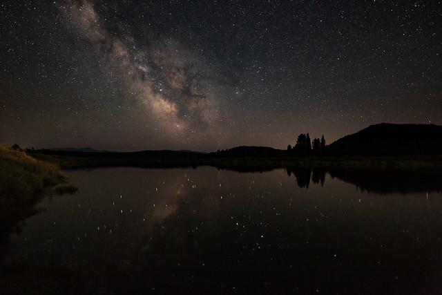 Snake River at Night