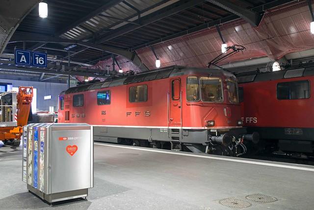 SBB Re 4/4 420 125 Zürich Hbf