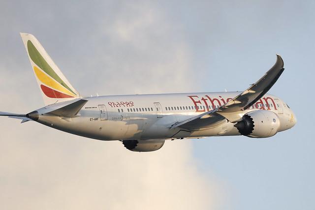 ET-ARF, Boeing 787-8, Ethiopian Airlines, Hong Kong