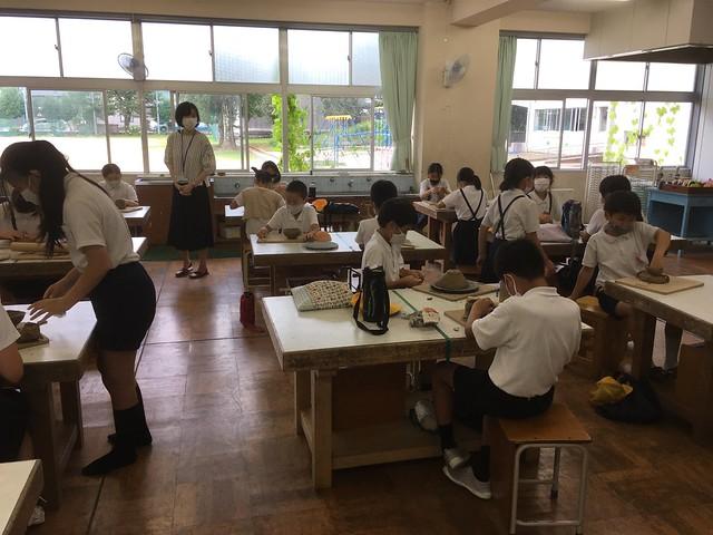 夏休み陶芸教室