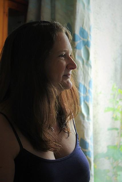 Canon EOS 60D - My wife Lisa by the window