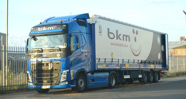 BKM [Turkey] - 34 BOS 144 - Gt.Yarmouth