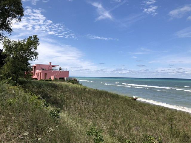 Lake Michigan and Florida Tropical House, Century of Progress Homes, Indiana Dunes National Park