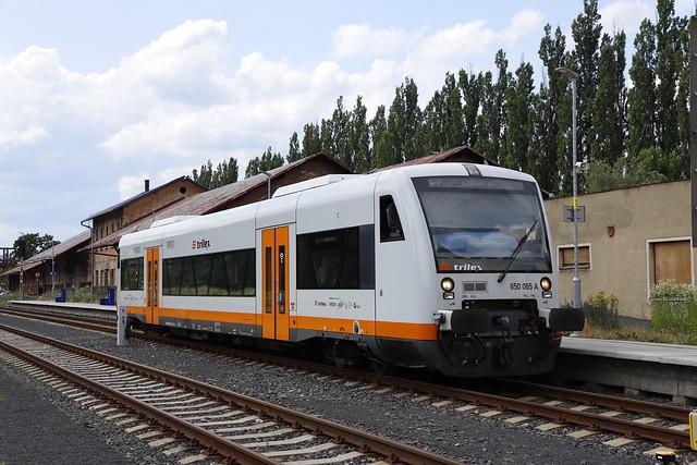 trilex 650 065 - Varnsdorf - 29/06/2021.