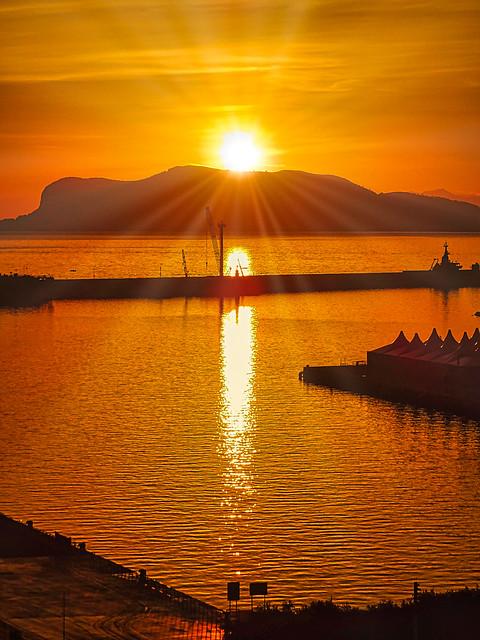 Sunset_Napoli (flickr explore)