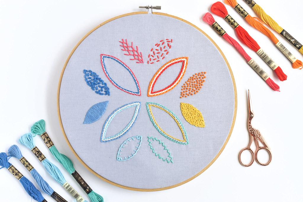 Cloud Craft Stitch Sampler