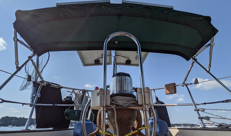 Friday's sail ready