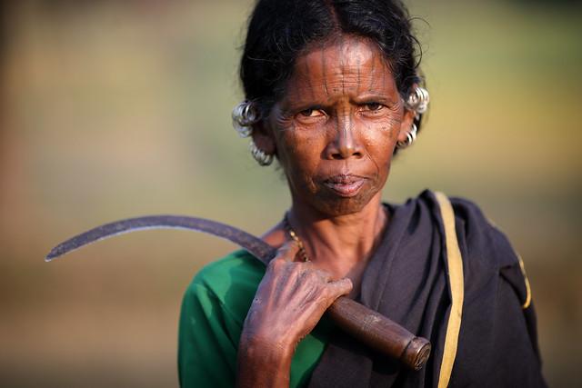 India, Desia Kondh woman in Odisha