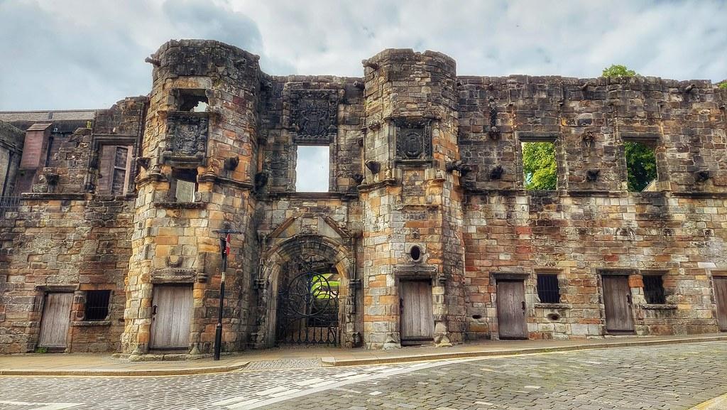 Ruins of Mar's Wark, Stirling, Scotland