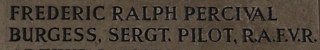 Frederic Ralph Percival Burgess