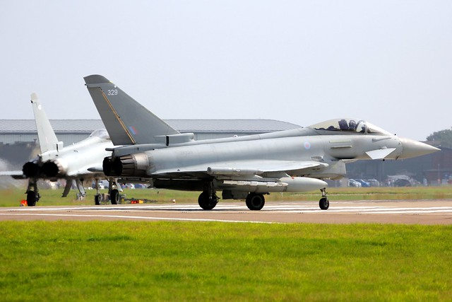 Typhoon FGR4 ZK329 RAF Coningsby 21.07.21