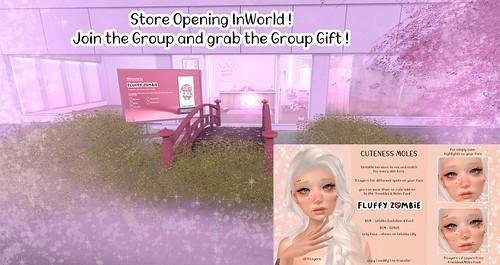 [FluffyZombie] - Storeopening & Group Gift ♥