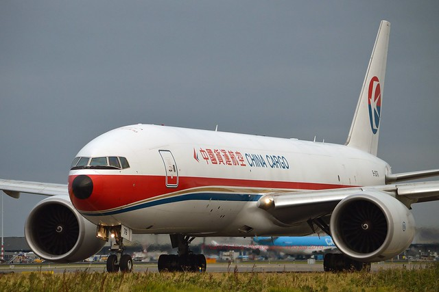 China Cargo Airlines B-2076 Boeing 777-F6N cn/37711-846 @ Taxiway Q EHAM / AMS 12-10-2016