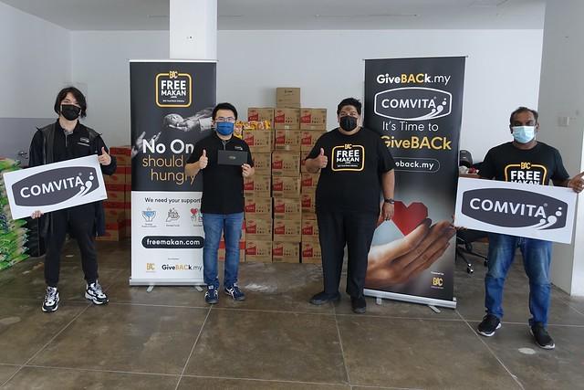 Comvita Malaysia_CSR Program with BAC Free Makan