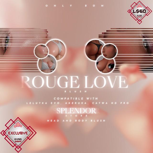Splendor - Rouge Love Blush @SUGOI Event