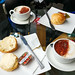 Scrambler27 posted a photo:with scones, of course!