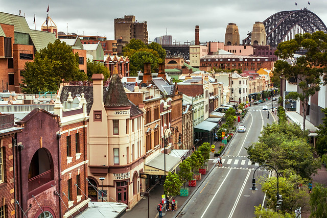 Old Sydney town.