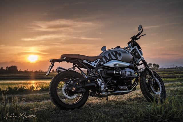 BMW R nineT Scrambler - Casaleggio Novara (Italy)