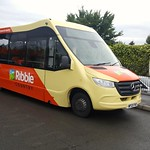 Transdev Ribble Country 71 (WP21 FHD) on layover at Clitheroe Interchange