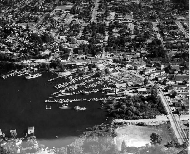 Atlantic City prior to development of boat ramp, 1952