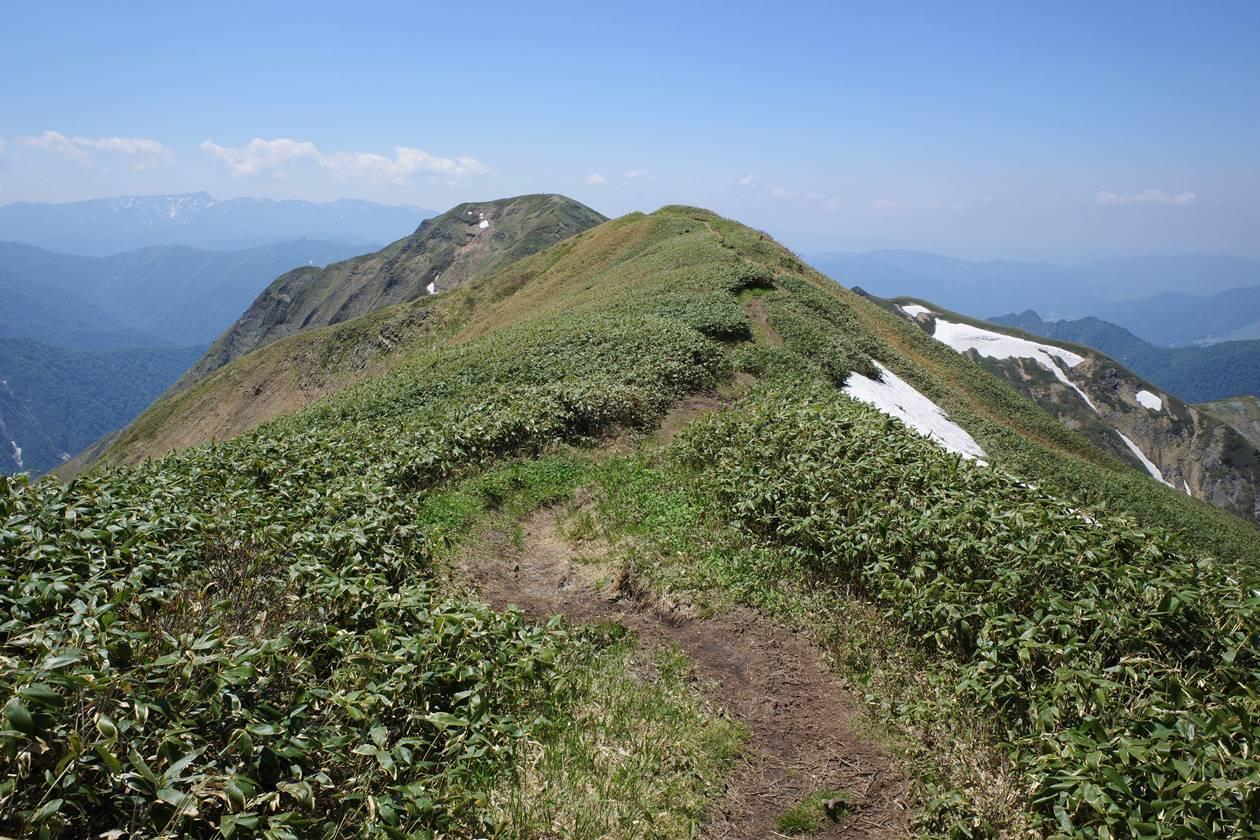 谷川岳・一ノ倉岳から茂倉岳へ