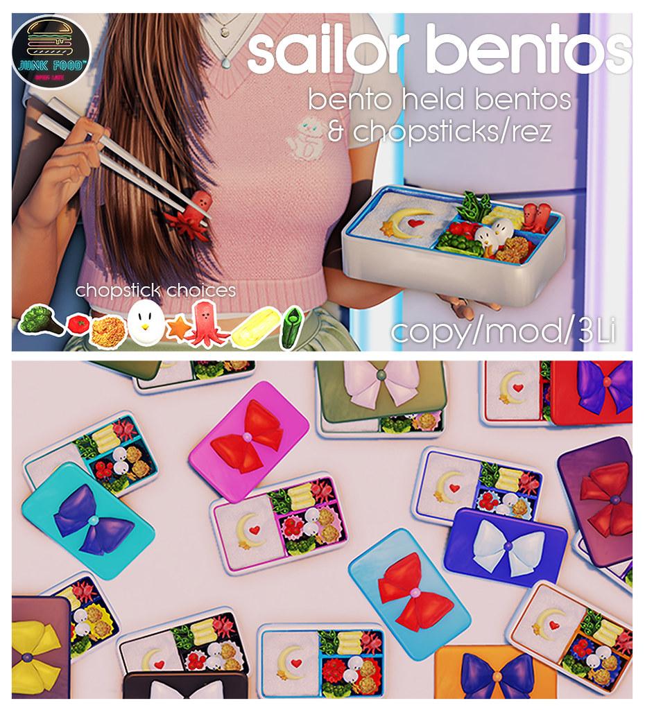 Junk Food – Sailor Bentos Ad