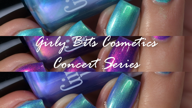 Girly Bits Cosmetics Concert Series Swatch
