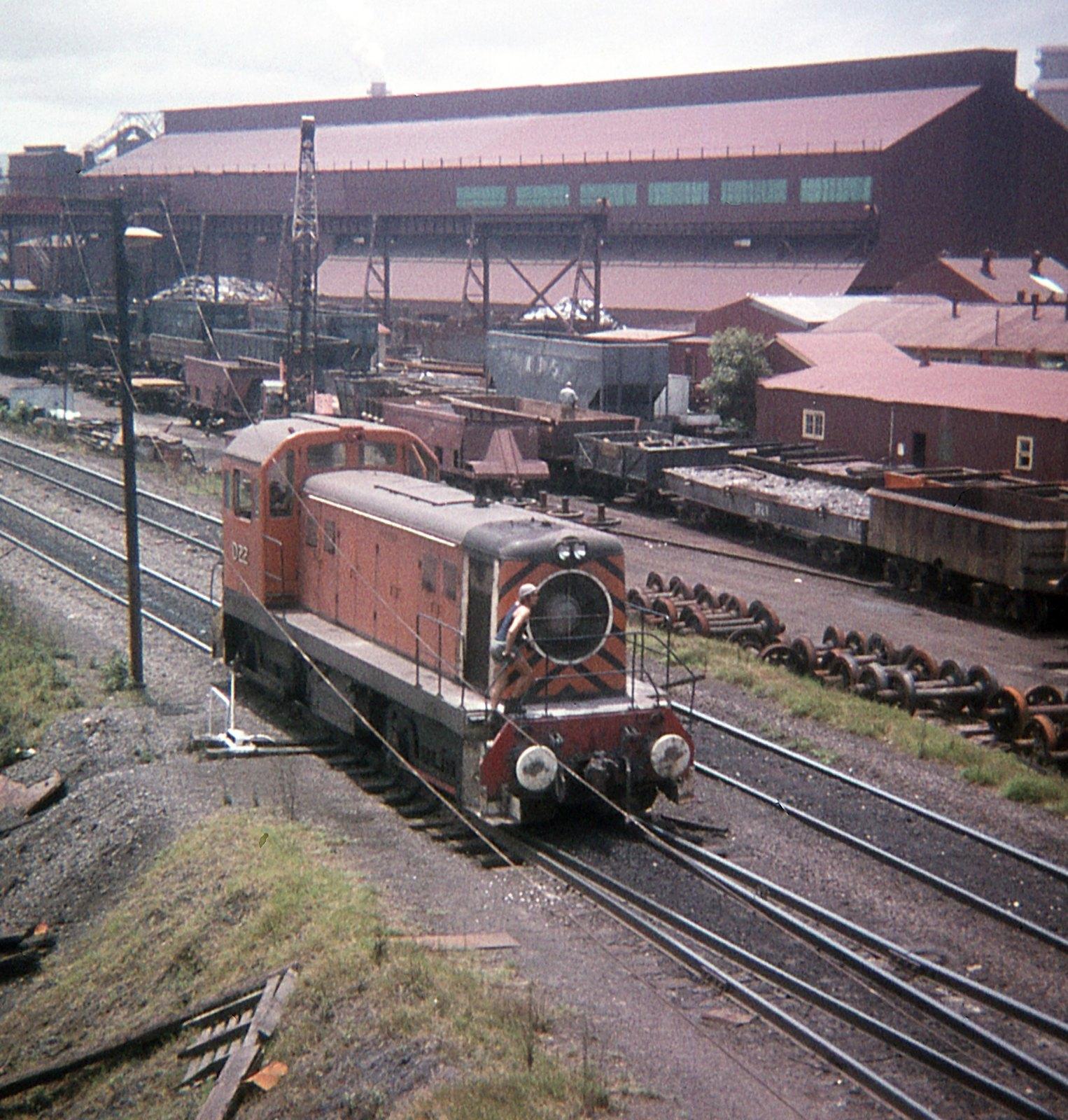 D22, Port Kembla Steelworks, Cringila, Wollongong, NSW by dunedoo