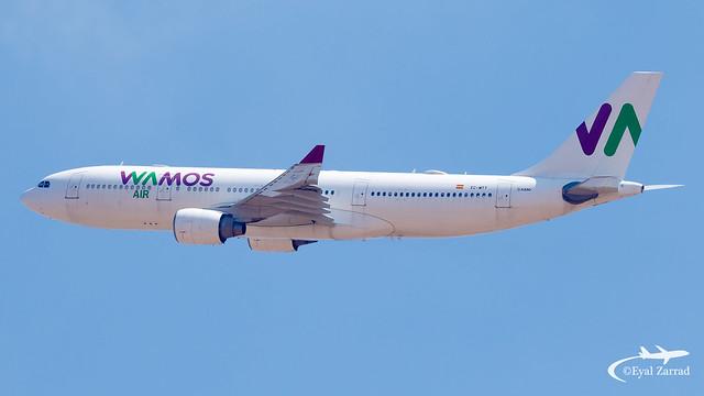 TLV - Wamos Air Airbus A330-200 EC-MTT