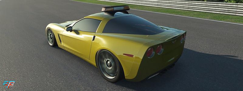 rFactor 2 Corvette Safety Car