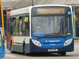 Stagecoach in Hartlepool 36088 (NK59 BNL)